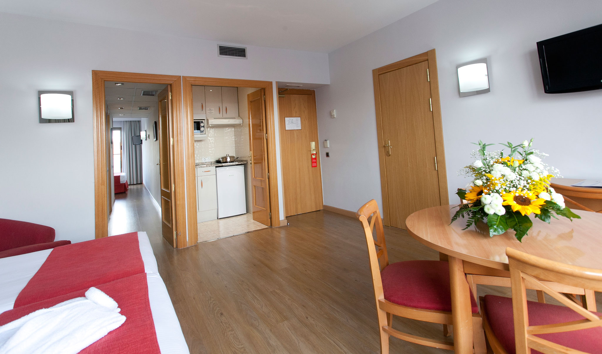Aparto suites muralto madrid official site aparthotel in for Madrid appart hotel